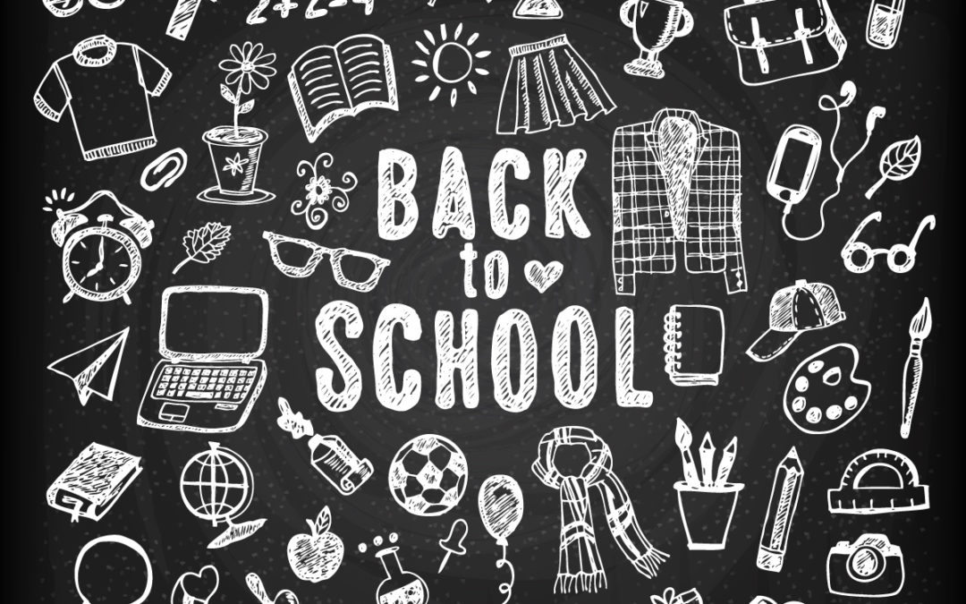 dekoration: back to school