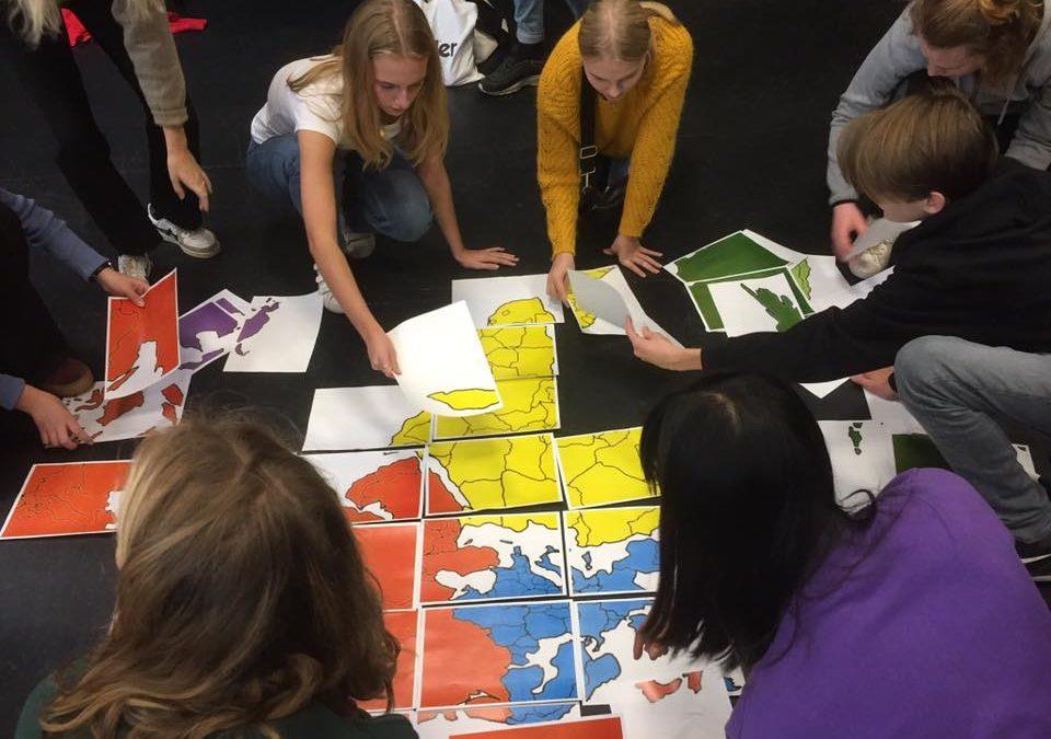 Orienteringsløb med Globale Gymnasier