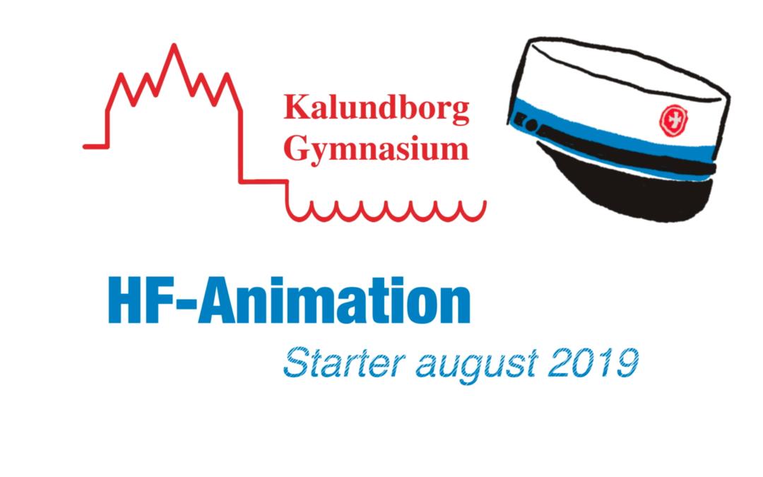 Ny hf-fagpakke: Animation