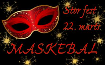 Invitation til stor fest: Maskebal