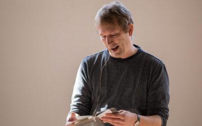 Simon Fruelund på besøg