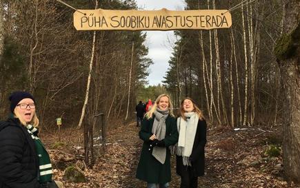 Globalt elevudvalg i Estland med Nordplus