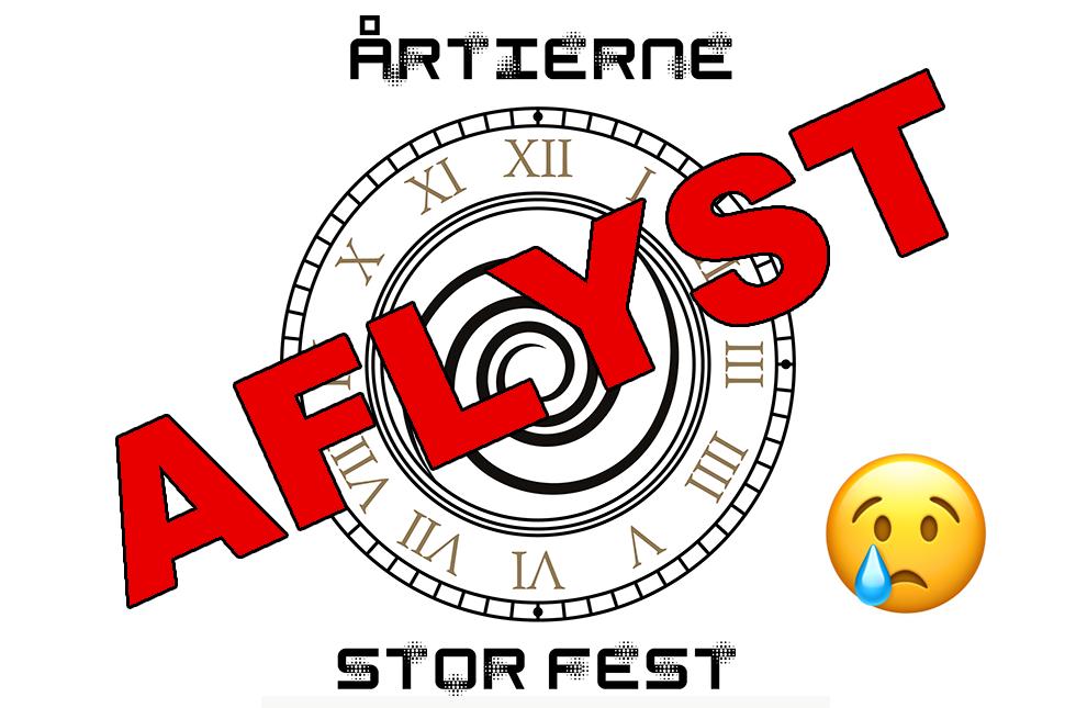 Stor Fest er aflyst!