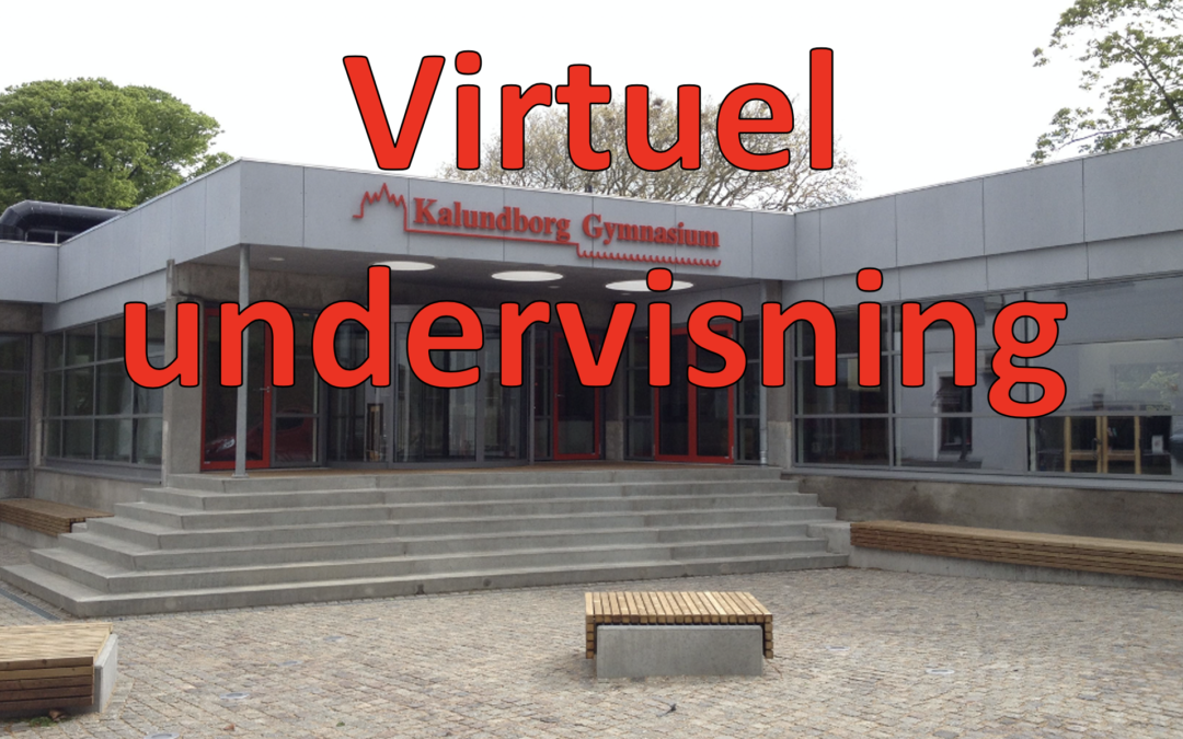 Virtuel undervisning til 7/2