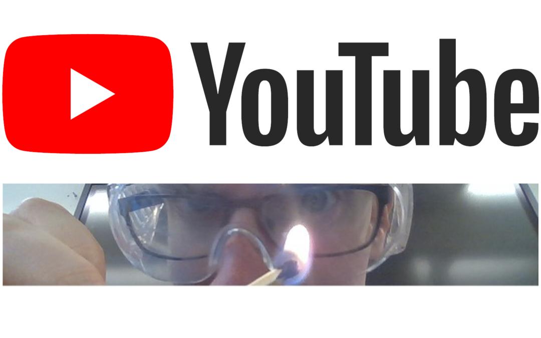 "YouTube-kanalen ""RNajbjerg Fysik Kemi"" har over 100.000 visninger"